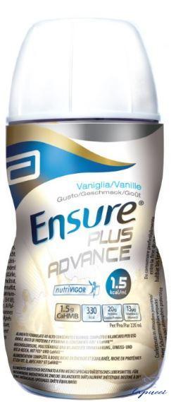 ENSURE PLUS ADVANCE VANIGLIA 4 BOTTIGLIE DA 220 ML