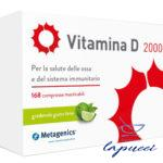 VITAMINA D 2000 UI 168 COMPRESSE MASTICABILI