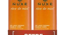 NUXE REVE DE MIEL DUO GEL DETERGENTE VISO E CORPO 2X400 ML