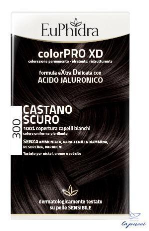 EUPHIDRA COLORPRO XD 300 CASTANO SCURO GEL COLORANTE CAPELLIIN