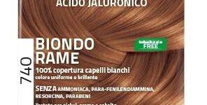 EUPHIDRA COLORPRO XD 740 BIONDO RAME GEL COLORANTE CAPELLI IN F