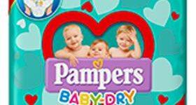 PAMPERS BABY DRY MUTANDINA MIDI SMALL PACK 19 PEZZI