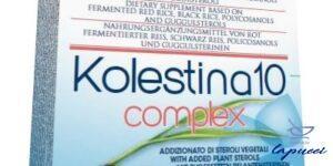 KOLESTINA 10 COMPLEX 24 CAPSULE 540 MG