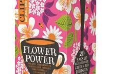 CLIPPER FLOWER POWER FIORI DI SAMBUSO IBISCO E LIME 20 FILTRI
