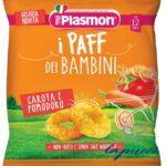 PLASMON DRY SNACK PAFF CAROTA POMODORO 15 G