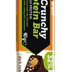 CRUNCHY PROTEINBAR DARK ROCK CHOCOLATE BARRETTA 40 G