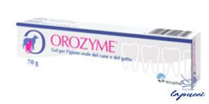OROZYME GEL IGIENE ORALE 70 G CON TUBO APPLICATORE E SPAZZOLINO