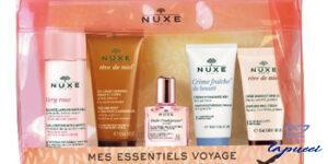 NUXE TROUSSE VOYAGE 2020 EAU MICELLAIRE VERY ROSE 35 ML  CREME