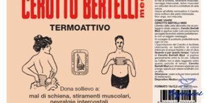 BERTELLI CEROTTO MED MEDIO 16 X 12,5 CM