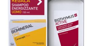BIOMINERAL ONE LACTOCAPIL 30 COMPRESSE  BIOTHYMUS SHAMPOO UOMO