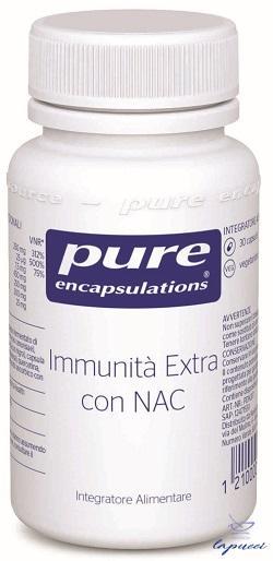 PURE ENCAPSULATIONS IMMUNITA' EXTRA CON NAC 30 CAPSULE