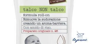 FIOCCHI DI RISO TALCO NON TALCO ROLL-ON