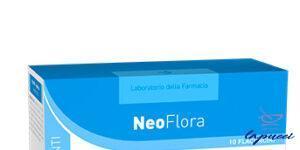 LABORATORIO DELLA FARMACIA NEOFLORA 10 FLACONCINI LINEA FERMENTI