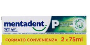 MENTADENT P 2 X 75 ML BITUBO PROMO