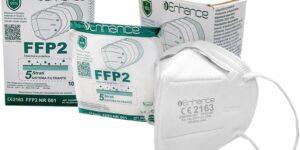YAFOX MASCHERINA FFP2 NR 5 PEZZI
