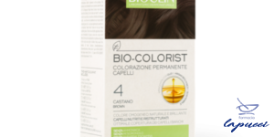 BIOCLIN BIO COLOR FAST&PERFECTION 4,0 CASTANO CREMA COLORANTE 6