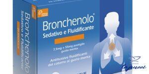 BRONCHENOLO SEDATIVO E FLUIDIFICANTE 20 pastiglie 7,5 mg  55 mg