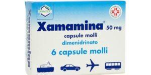 XAMAMINA 6 cps molli 50 mg