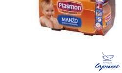 PLASMON OMOGENEIZZATO MANZO 80 G X 2 PEZZI