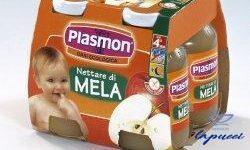 PLASMON NETTARE DI MELA 4 X 125 ML