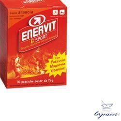 ENERVIT G SPORT ARANCIA 10 BUSTE DA 15 GRAMMI