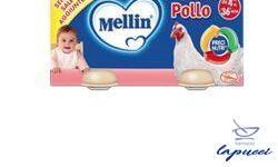MELLIN OMOGENEIZZATO POLLO 80 G 2 PEZZI