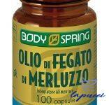 BODY SPRING OLIO MERLUZZO 100 CAPSULE