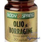 BODY SPRING OLIO DI BORRAGINE 50 CAPSULE MOLLI
