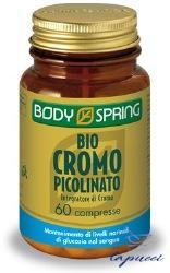 BODY SPRING CROMO PICOLINATO 60 COMPRESSE