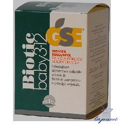 GSE BIOTIC BABY 3-12 BEVANDA 250 ML