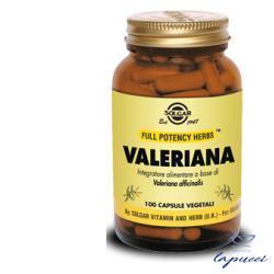 VALERIANA 100 CAPSULE VEGETALI