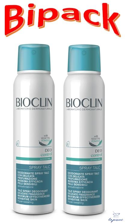 BIOCLIN DEO CONTROL SPRAY TALC BIPACK