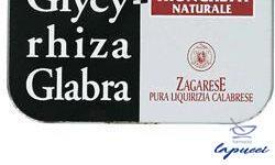 ZAGARESE GLYCYRHIZA LIQUIRIZIA IN TRONCHETTI 40 G