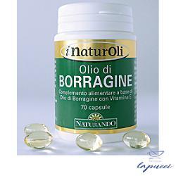 I NATUROLI OLIO DI BORRAGINE 70 CAPSULE