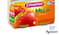 PLASMON OMOGENEIZZATO MELA 2 X 104 G