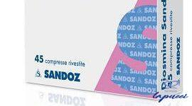 DIOSMINA SANDOZ 45 COMPRESSE RIVESTITE