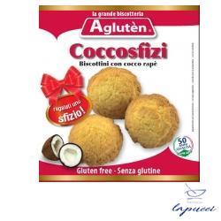 AGLUTEN COCCOSFIZI BISCOTTINI SENZA GLUTINE CON COCCO RAPE'100 G