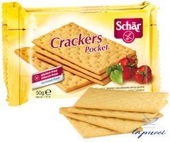 SCHAR CRACKERS POCKET 3 PEZZI 50 G