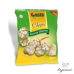 GIUSTO SENZA GLUTINE CHIPS FORMAGGIO 30 G
