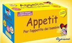 APPETIT INTEGRATORE BAMBINI 10 FIALE 10 G
