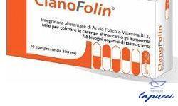 CIANOFOLIN 30 COMPRESSE GASTROPROTETTE 9 G