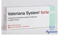 VALERIANA SYSTEM FORTE 20 COMPRESSE