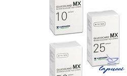 STRISCE MISURAZIONE GLICEMIA GLUCOCARD MX 10 PEZZI