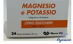 MASSIGEN MAGNESIO POTASSIO SENZA ZUCCHERO 24 BUSTINE