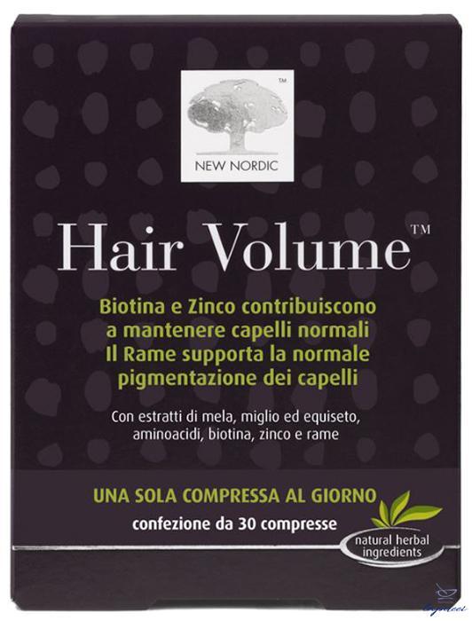 HAIR VOLUME INTEGRATORE ALIMENTARE BLISTER 30 COMPRESSE