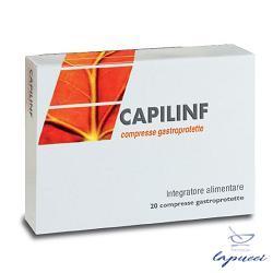 CAPILINF 20 COMPRESSE GASTROPROTETTE