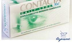 LENTE A CONTATTO MONOUSO GIORNALIERA CONTACTA DAILY LENS YAL16