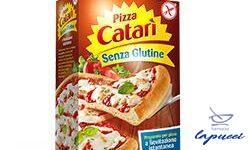 PIZZA CATARI' PREPARATO SENZA GLUTINE 456 G