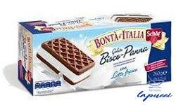 SCHAR SURGELATI GELATO BISCO PANNA BONTA' D'ITALIA 8 X 32,5G