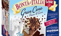 SCHAR SURGELATI GRANCONO PANNA&CACAO BONTA' D'ITALIA 6 X 70G